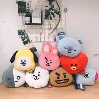 韓國BTS造型絨毛娃娃送禮首選可愛造型抱枕