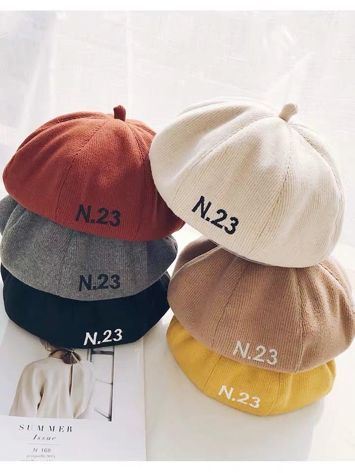 日系燈心絨材質貝蕾帽氣質畫家帽南瓜帽八角帽英倫學院風