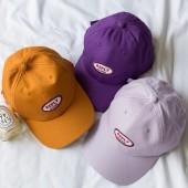 美式風格潮流時髦百搭鴨舌棒球帽子造型REPLY字母刺繡夏遮陽帽男帽女帽百搭老帽