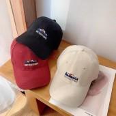 簡約潮流復古老帽山脈刺繡造型個性男帽女帽情侶棒球帽