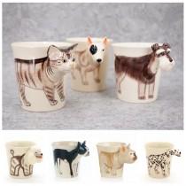 泰國代購立體動物造型馬克杯陶瓷杯牛奶杯水杯送禮首選生活用品
