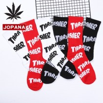 潮流長襪英文字母滑板襪男襪女襪中筒襪個性學生百搭運動襪