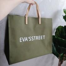 新款大包包韓國簡約手提包休閒大容量帆布字母單肩包通勤托特包側背包女包