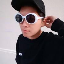 中國有嘻哈潮流有色太陽眼鏡墨鏡防曬抗UV造型個性墨鏡
