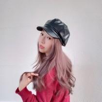 韓國皮質休閒帥氣個性報童帽貝蕾帽秋冬潮流新款造型帽子