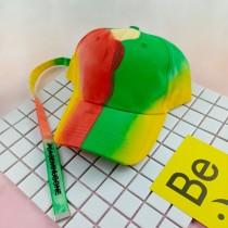 潮流GD長帶子彩色老帽帥氣時髦鴨舌帽遮陽造型帽子