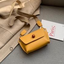 可愛普普風格造型小包手機帆布背帶斜背小包百搭個性出遊必備小包