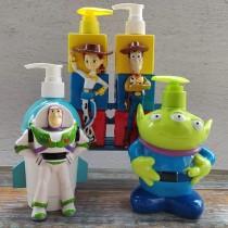 日本代購卡通造型按壓式塑膠瓶沐浴乳瓶洗髮精瓶生活用品補充瓶罐