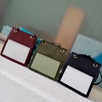 熱賣韓國方形硬殼撞色搭配可愛氣質造型肩背包側背包女包