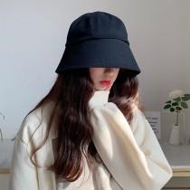 帽子女秋冬新款鐘型漁夫帽韓國潮流文青百搭遮陽防曬水桶帽盆帽造型女帽