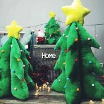 聖誕樹公仔聖誕節毛絨毛玩具聖誕樹公司活動室內裝飾節日禮品玩偶聖誕交換禮物