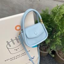 流行包包女夏2021新款潮時尚網紅爆款斜背肩背包包清爽甜美手提小女包百搭小方包