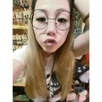 2019可愛俏皮圓形鏡框金屬框造型眼鏡百搭氣質時髦造型眼鏡
