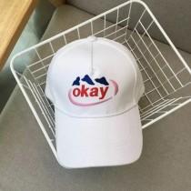 簡約氣質刺繡圖百搭清新老帽鴨舌帽棒球帽女帽遮陽帽防曬帽