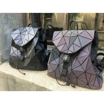 日本代購幾何不規則特色潮流個性質感後背包大容量後背包