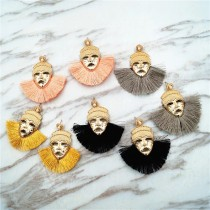 埃及風格法老造型誇張華麗特色造型耳環人臉創意垂墜耳環